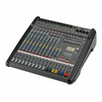 Dynacord PowerMate 1000-3 10 Channel Powered Mixer Mixing Desk 2 x 1000W Effects USB