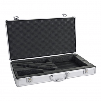 HQ Power Aluminium Flightcase for Wireless Radio Mics