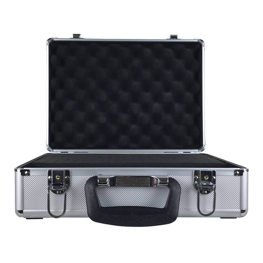 Soundlab Microphone Flightcase Carry Case Karaoke DJ Disco PA