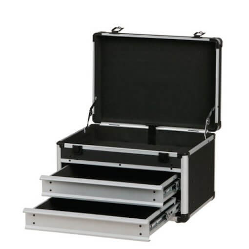 DAP Toolcase 2 Stage PA Equipment Flightcase Tool Roadie Storage