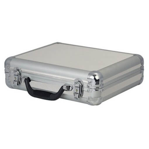 DAP Audio 7 Microphone Case Flightcase Silver