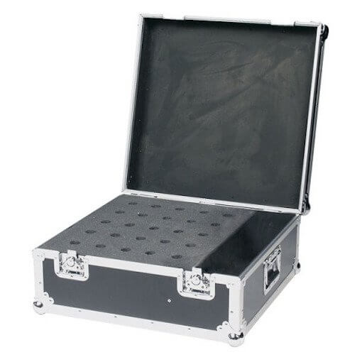 DAP Audio Professional Heavy Duty 25 Microphone Flightcase
