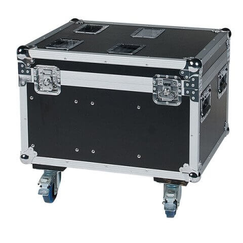 Moving Head Flightcase for 4 x Showtec Phantom 50 / Chauvet Intimidator 255 IRC