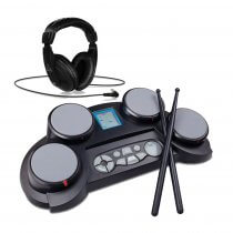 Medeli DD61 Electronic Drum Machine with Sticks & Headphones