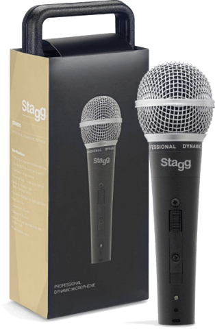 Stagg SDM50 Metal Heavy Duty Dynamic Vocal Microphone