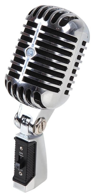 STELLAR LABS  35-7030  50's Style Microphone