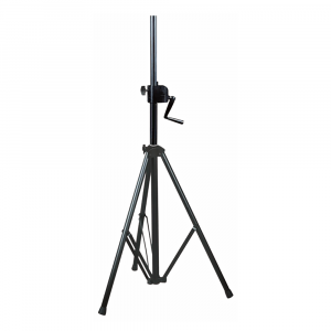 NJS Heavy Duty Tripod Speaker Stand with Winch (SWL: 60 kg)