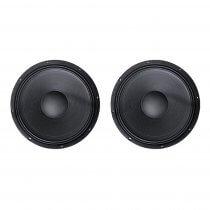 """2x BST ODIN 15 Subwoofer Bass Bin 15"""" 1200W Speaker Disco DJ Sub"""
