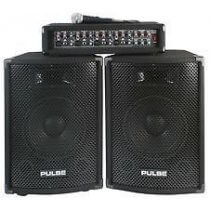 Pulse 2 x 100w DJ PA System Kit