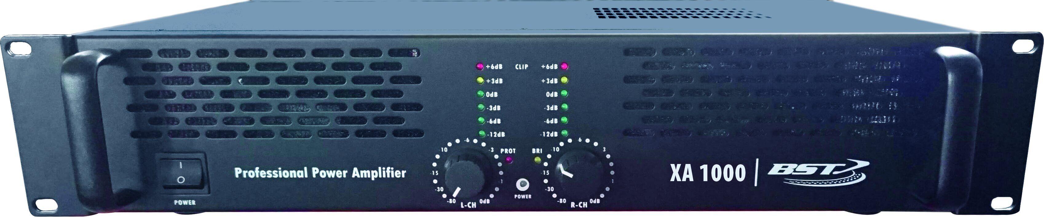 BST XA1000 1000W Power Amplifier
