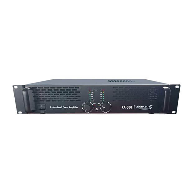 BST XA600 Power Amplifier 600W DJ Disco Band PA Sound System Speaker