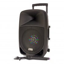 "Party Light & Sound 12"" 700W Battery Sound System Bluetooth (New Model)"