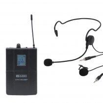 W Audio DTM 800BP Add On Beltpack Kit CH70 UHF Lapel Headset