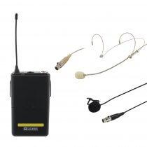 W Audio RM Quartet Beltpack Kit 863.01Mhz Lapel Headset Suitable for Kam Quartet
