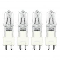 4x Osram GY9.5 M38 230V 300W Halogen Lamps