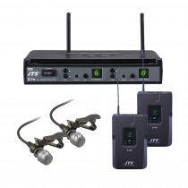 JTS E7-DU Beltpack System UHF Wireless Radio Microphone Lapel Conference