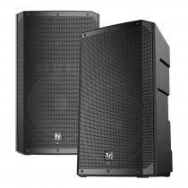 "2x Electrovoice ELX200-15P Active 15"" PA Speaker 1200W DJ Disco Sound System"