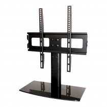"""Electrovision Universal Tabletop TV Pedestal Stand with VESA Bracket up to 70"""" Screen"""
