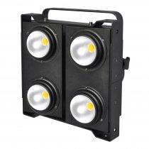 eLumen8 400W COB 3200K LED Blinder Warm 4 x 100W Stage Lighting DMX
