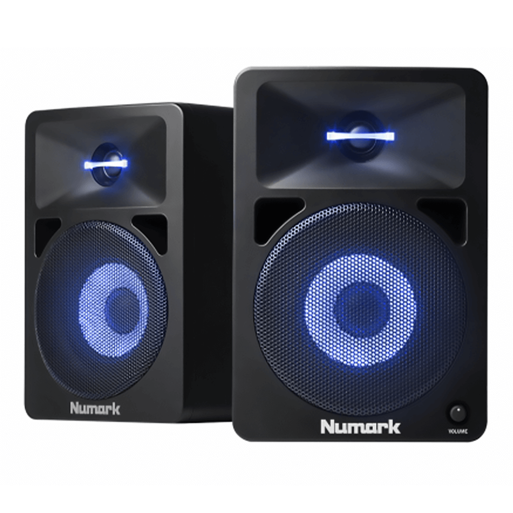Numark N-Wave 580L Active Studio Monitor Speakers (Pair)
