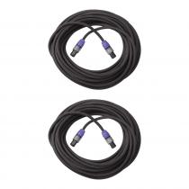 2 x Neutrik Speakon 15M Speaker Cable