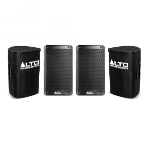 "2x Alto TS308 Active 8"" 2000W Speakers inc Covers"