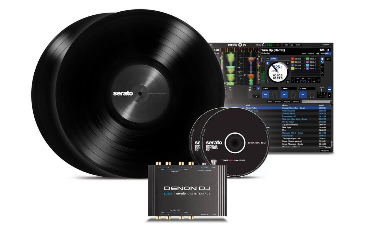 Denon DS1 Professional 2-Channel Serato DJ DVS Interface