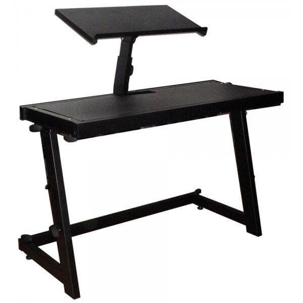 DJ Deck Stand CDJ Turntable Mixer Laptop DJ Equipment Stand Desk inc Carry Bag