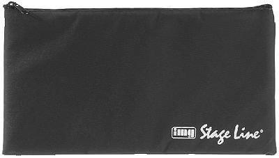 Microphone Bag Soft Case Pencil Case Type Bag Storage Nylon Singer Band Studio