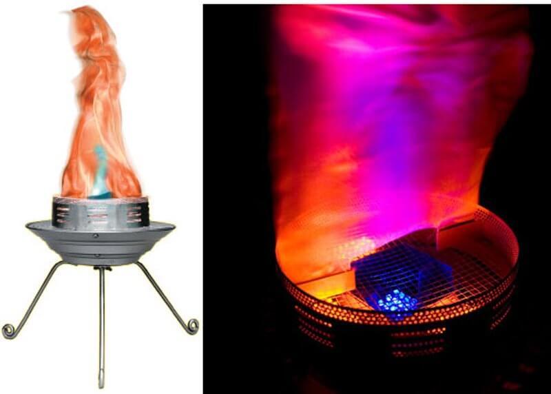 Chauvet Bob LED Flame Effect Light Decor Party