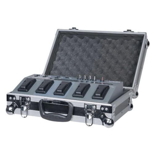 Custom Flight Case For Showtec LED Foot 4 Foot Controller Switch