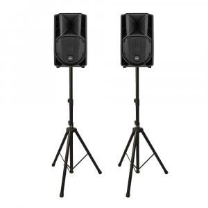 """2x RCF ART 708-A Active Powered Speaker 8"""" 400W DJ Disco PA System"""