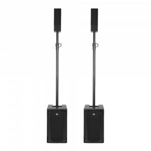 2x RCF Evox 5 Active Two Column Array Speaker System 800W DJ Disco Sound System