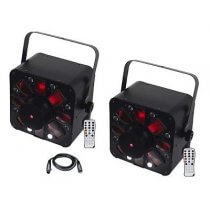 2x AFX Combo LED inc. Cable