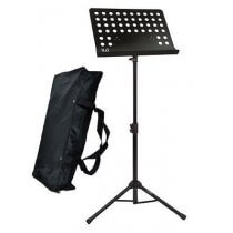 NJS Heavy Duty Conductor Music Stand inc. Carry Bag