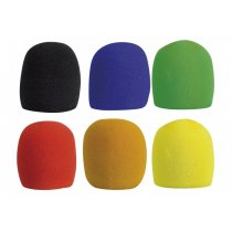 DAP Microphone Windshield Pack of 6 Assorted Colours