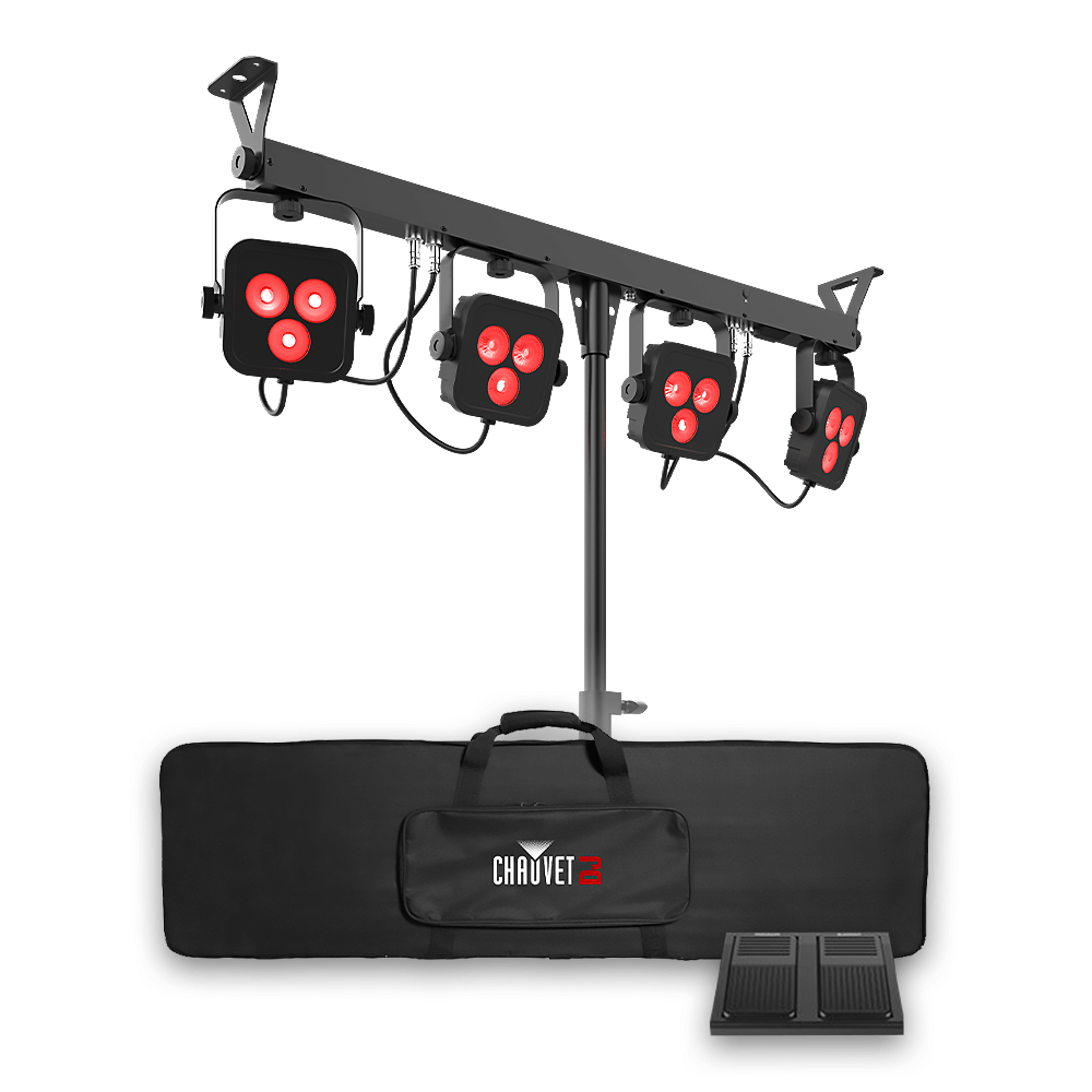 Chauvet DJ 4BAR LT BT LED Parbar Lighting System **Wireless Control from  Phone App** DMX DJ