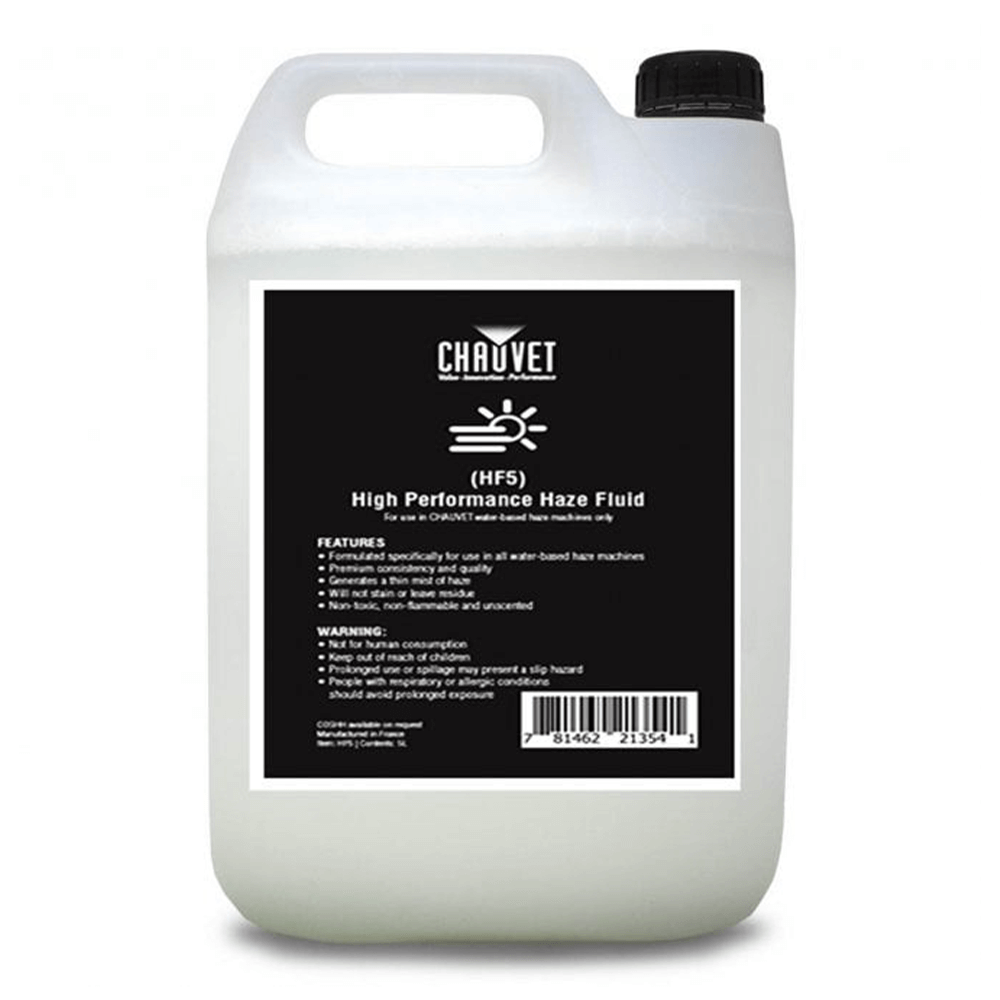 Chauvet DJ High Performance Haze Fluid (5 Litres)
