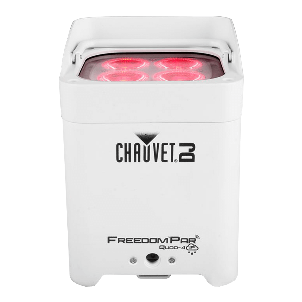 Chauvet DJ Freedom Par White Quad IP Waterproof Battery Uplighter