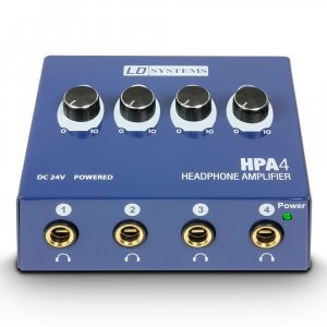 LD Systems HPA 4 Headphone Amplifier
