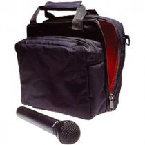 Stagg MIB-100 Microphone Carrier Bag with 2 Compartments