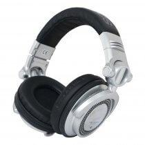 Technics RP-DH1200 Professional DJ Headphones (Silver)