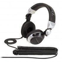 Technics RP-DJ1210 Professional DJ Headphones (Silver)