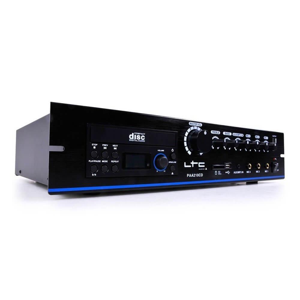 LTC PAA210CD PA Speaker Amplifier CD Player USB 100V
