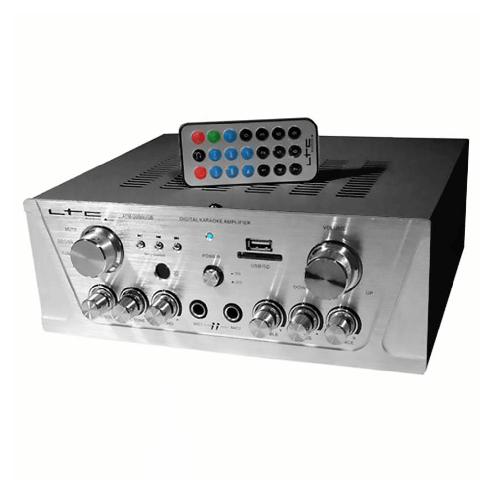 LTC Audio ATM2000USB-BT Karaoke Amplifier inc. Remote