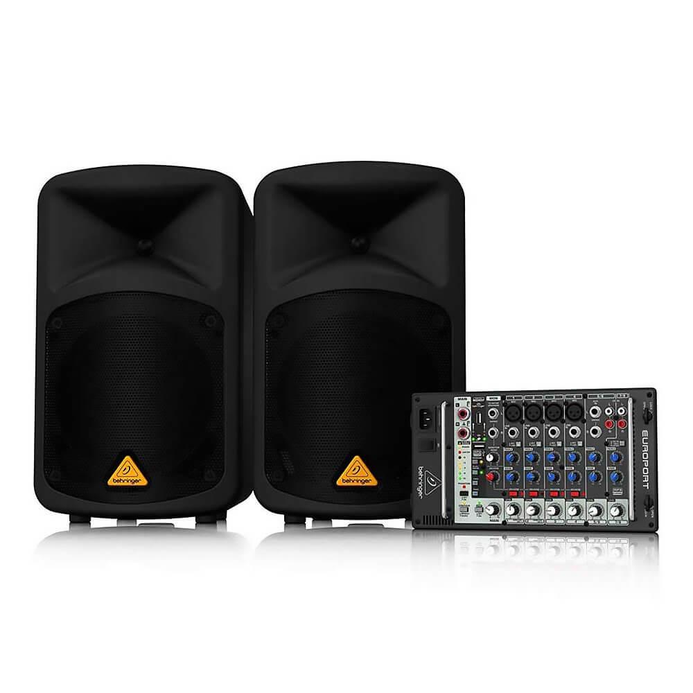 Behringer EPS500MP3 500W Powered Speaker System