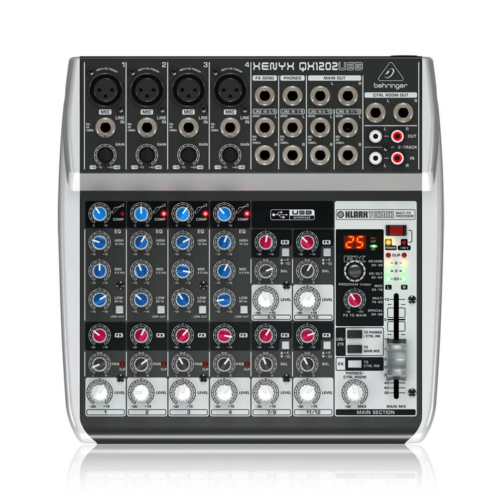 Behringer Xenyx Q1202USB 12-Input Mixer