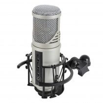 Citronic CU-MIC Studio Microphone with USB Audio Interface Podcast Recording