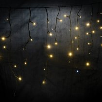 Lyyt Icicle-Inspired LED Outdoor String Lights Fairy Light Twinkle Effect Warm White