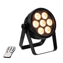 Eurolite 4C-7 LED Silent Spot LED Par Can Light 7 x 8W RGBW DMX inc Remote